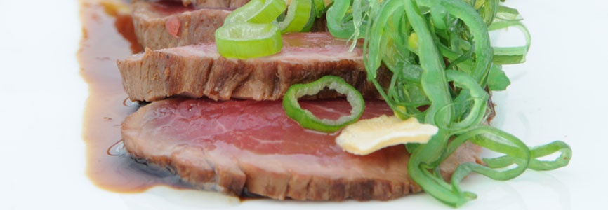 Beef Tataki Bries Noordwijk