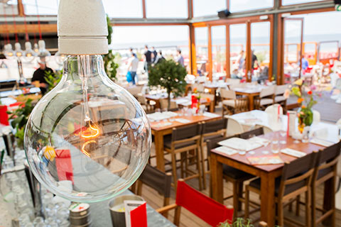 Beachclub Bries | Restaurant