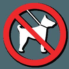 Verboden voor honden van juni tot september